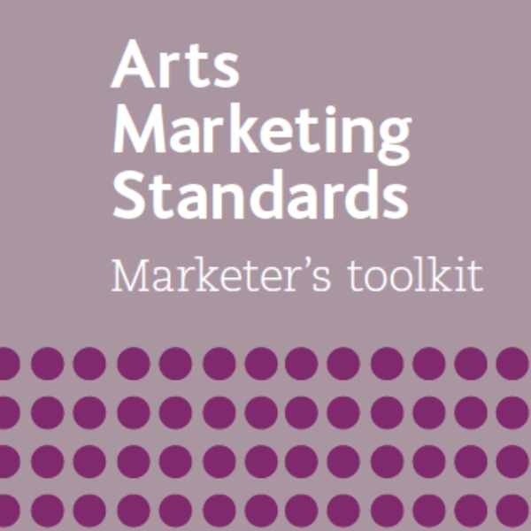 Arts Marketing Standards front cover