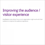 Improving the visitor experience