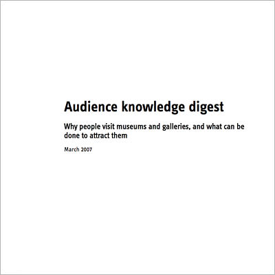 Audience Knowledge Digest cover image