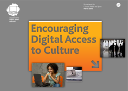 Encouraging digital access to culture