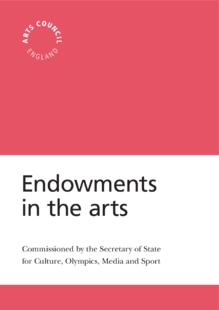 How endowments might be used to support the funding economy of the arts in Britain