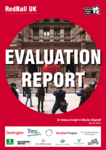 Large-scale public arts project evaluation – RedBall UK