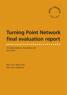 The Turning Point visual arts network evaluation report