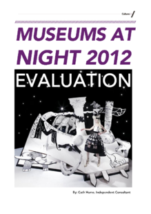 Museums at Night 2012 – evaluation report