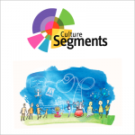 Culture Segments logo and illustration