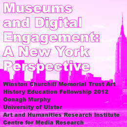 Museums and digital engagement: a New York perspective