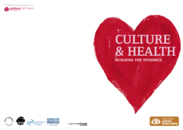 Building the evidence for culture and health