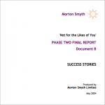 Not for the likes of you success stories cover