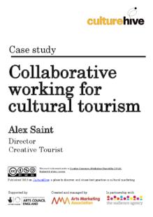 Collaborative digital marketing for cultural tourism