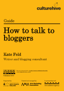 How to talk to bloggers