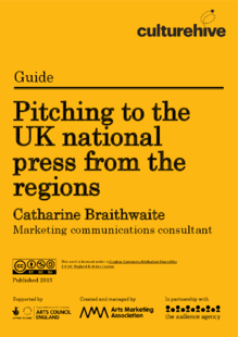 Pitching to the UK national press from the regions
