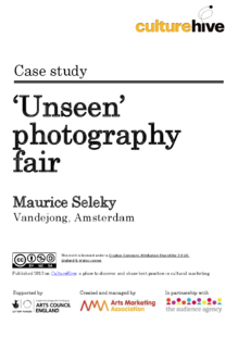 Launching a new brand and digital strategy for the Unseen photography fair