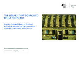 The library that borrowed from the public