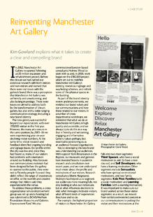 Creating a clear and compelling brand at Manchester Art Gallery
