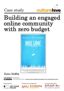 Building an engaged online community with zero budget