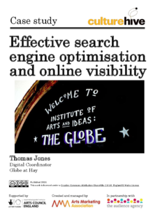 Effective search engine optimisation and online visibility for arts organisations