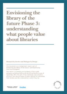 Understanding what people value about libraries