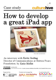 How to develop a great iPad app