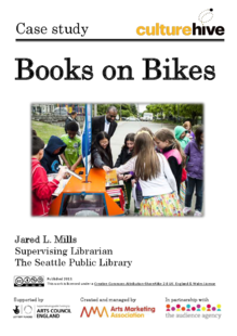 Books on bikes: bringing the library to the people