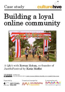 Building a loyal online community