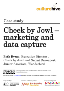 Implementing research and data capture for a touring company
