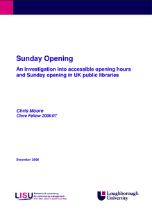How can we best extend public library opening times?