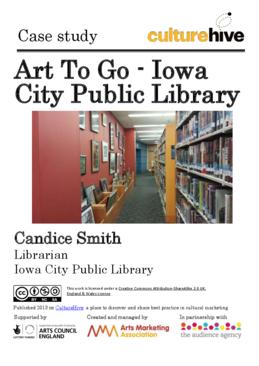 Art lending through libraries