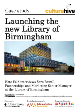 Launching the new Library of Birmingham