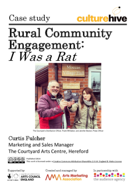 Engaging with rural communities to develop new audiences