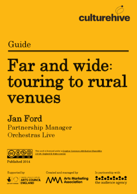 Touring to rural venues