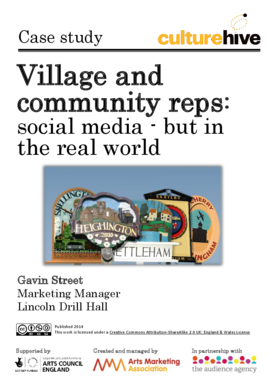 Village and community reps: social media – but in the real world