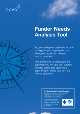 Funder needs analysis tool