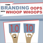 Turn branding oops into whoop whoops cover