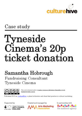 Using ticket donations as part of a wider appeal