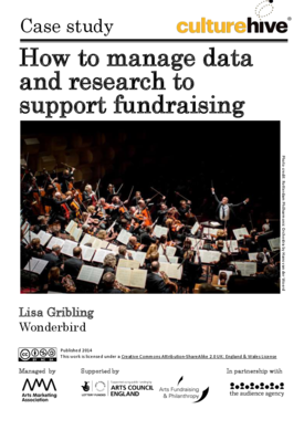 How to manage data and research to support fundraising
