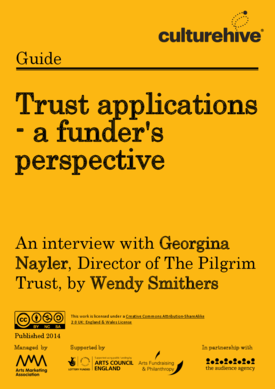 Trust applications – a funder's perspective
