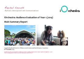 iOrchestra Project Evaluation Year 1 (2014) – Summary Report