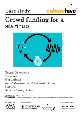 Crowd funding for a start-up