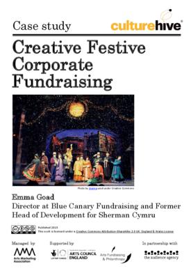Creative Festive Corporate Fundraising