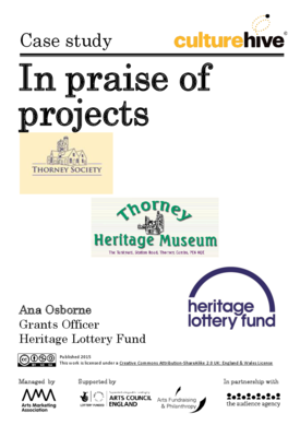 In praise of projects: funding an independent museum