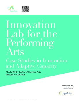 Center of Creative Arts and COCABiz: case study in innovation and adaptive capacity