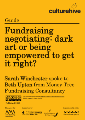 Fundraising negotiating: dark art or being empowered to get it right?