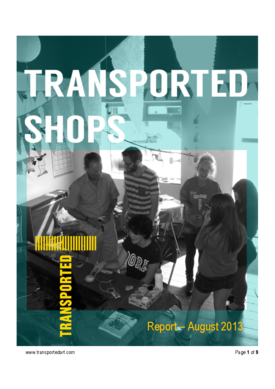Transported Empty Shops Report