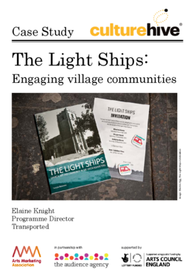 The Light Ships: Engaging village communities