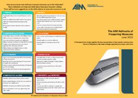 AIM Hallmarks of Prospering Museums
