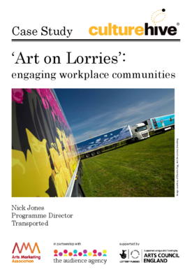 Art on Lorries: engaging workplace communities