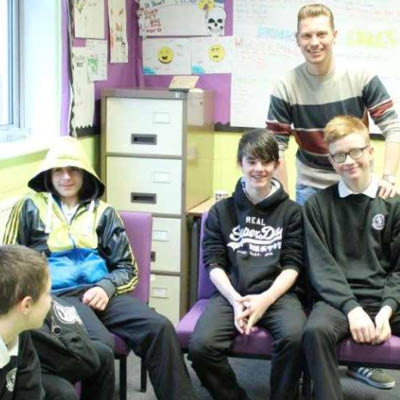 Caerphilly Rap Stars at Lewis School