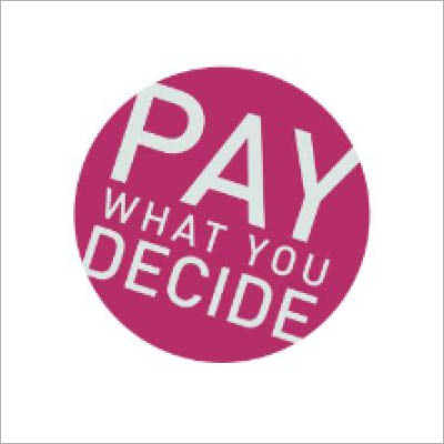 Pay What You Decide logo