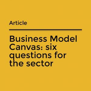 Business Model Canvas text image