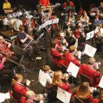 Made in Corby orchestra performing